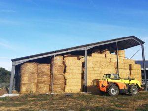 Hangar agricole pour stockage de fourrage Maine-et-Loire (49)