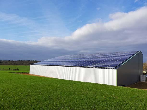Hangar agricole pour stockage de production Maine-et-Loire (49)