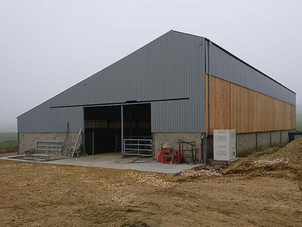 Hangar agricole pour stockage matériel Ain (01)