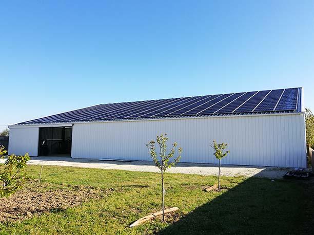 Hangar agricole pour stockage matériel Charente-Maritime (17)