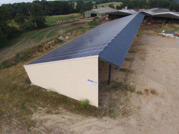 hangar agricole solaire vendée elyor group